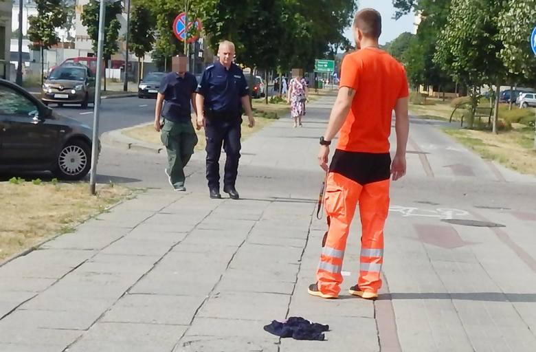 Świnoujście - mężczyzna w amoku wybiegał przed nadjeżdżające samochody