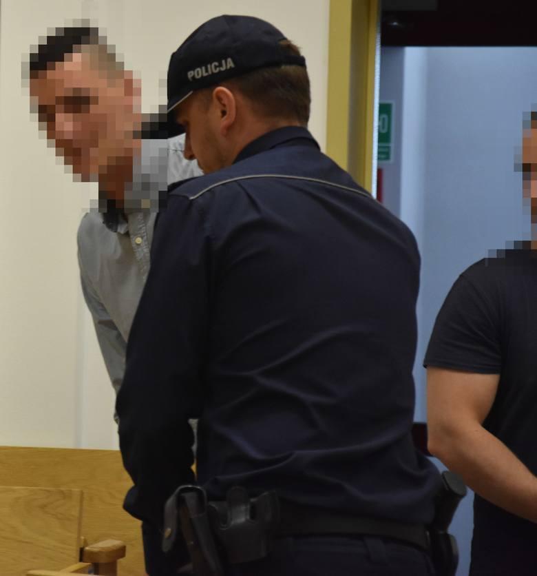 25 lat więzienia dla Dawida K, 8 lat dla czterech pozostałych oskarżonych  - takie wyroki zapadły w poniedziałek, 3 czerwca, w procesie dotyczącym zakatowania Jacka Hrycia z Jastrzębia-Zdroju. Na zdj. Dawid K.