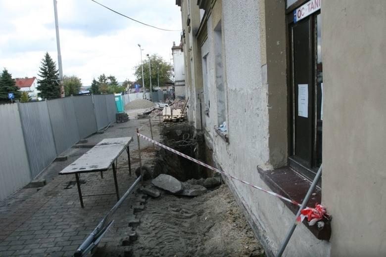 Nowy Sącz: ruszył remont dworca PKP [ZDJĘCIA]