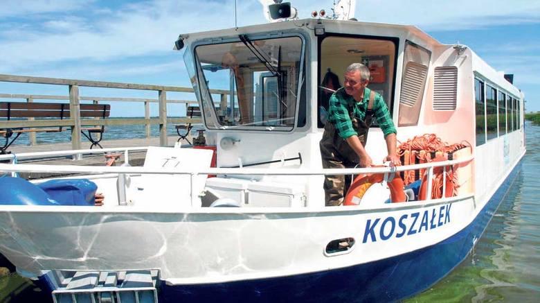 20 czerwca na jeziorze Jamno rozpoczyna rejsy wycieczkowy statek Koszałek