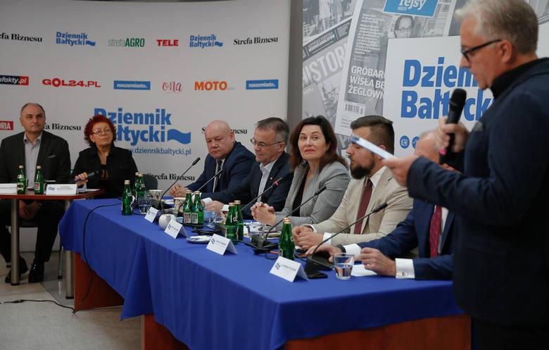 """Debata wyborcza """"Dziennika Bałtyckiego"""". Kobylarz, Sellin, Maciejewska, Urbaniak, Neumann - dyskusja gdańskich """"jedynek"""" [WIDEO]"""