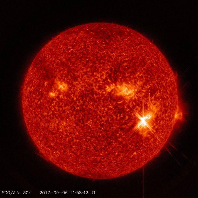 Ostatnie silne rozbłyski słoneczne zdarzyły się we wrześniu tego roku
