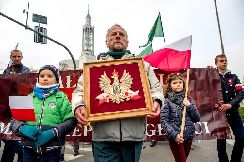 VIII Marsz Niepodległości w Białymstoku odbył się 10 listopada w przeddzień Święta Niepodległości