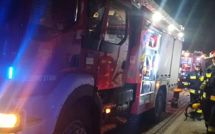 W nocy z 10 na 11 grudnia strażacy zostali zadysponowani do pożaru sklepu w Tykocinie.