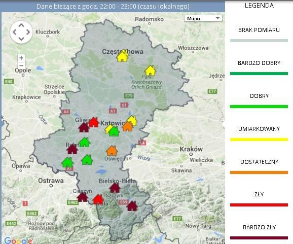 W kontekście smogu sporo mówi się o problemach Krakowa, ale jak pokazują wyniki badań miasta w woj. śląskim są o wiele bardziej narażone na smog. Zobacz