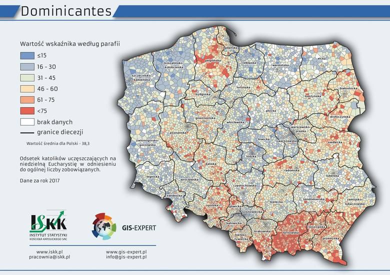Liczenie wiernych w diecezji lubelskiej. Ile osób chodzi na mszę, ile przyjmuje komunię? Znamy najnowsze statystyki