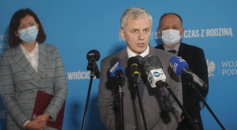 dr. hab. n. med. Andrzej Cieśla, kierownik Klinicznego Oddziału Chorób Zakaźnych w Centrum Medycznym w Łańcucie.