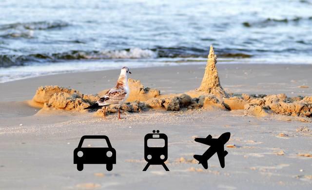 Kierunek: Bałtyk. Jak dojechać nad morze? Samochód, pociąg czy samolot? Wyścig polskich miast do 3 kurortów nad Bałtykiem: Gdańsk, Kołobrzeg i Szcze