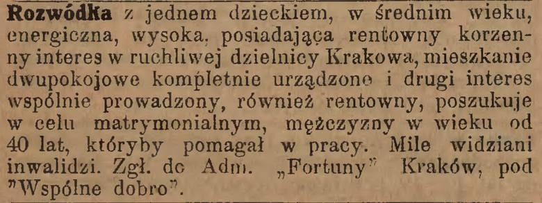 Fortuna : jedyne w Polsce pismo poświęcone sprawom kojarzenia małżeństw. 1923, nr 38