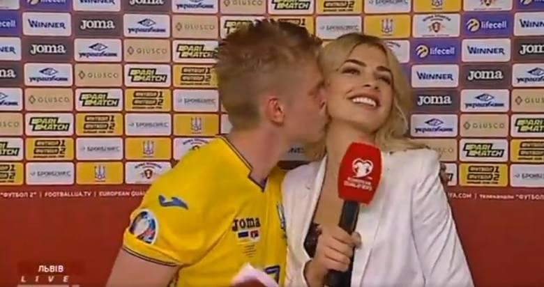 Po rozgromieniu Serbii przez Ukrainę (5:0) show skradł pomocnik zwycięskiej ekipy Ołeksandr Zinczenko. Piłkarz Manchesteru City na zakończenie telewizyjnego