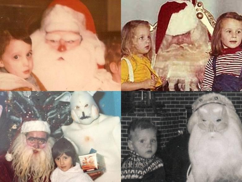 Nie chcielibyście posłać do nich swoich dzieci. Jeżeli dzieciństwo minęło Ci w okresie PRL, być może spotkałeś podobnych. Oto Mikołajowie jak z horr