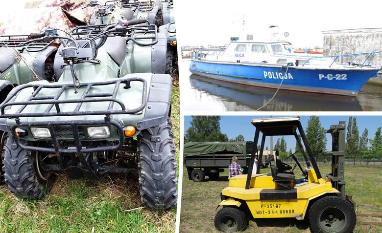 Powojskowy sprzęt i pojazdy znów będą do kupienia w Bydgoszczy. Już 10 września bydgoski oddział AMW przeprowadzi kolejny przetarg na sprzedaż powojskowego