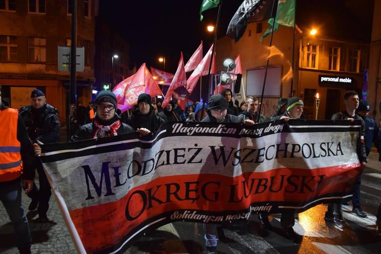 W niedzielę, 3 marca swój marsz w Zielonej Górze zorganizowali lubuscy narodowcy. Zgodnie z zapowiedziami organizatora manifestacja ta jest wyrażeniem