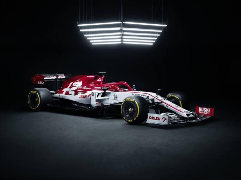 Bolid Alfa Romeo Racing Orlen zaprezentowany. Takim autem będzie jeździł Robert Kubica