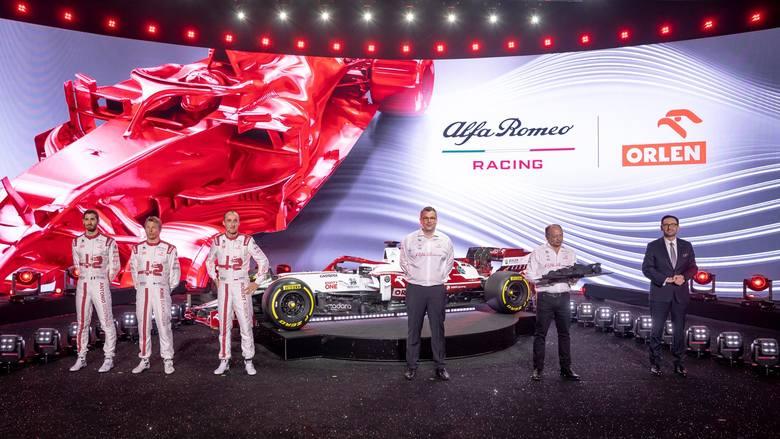 Prezentacja Alfa Romeo Racing Orlen w Teatrze Wielkim w rytmie Chopina