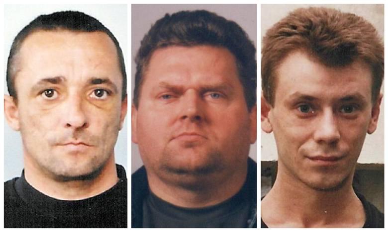 Ci mężczyźni ścigani są przez policję z art. 197 Kodeksu Karnego, czyli zgwałcenie. Mogą być niebezpieczni. Jeśli wiesz, gdzie się znajdują, powiadom