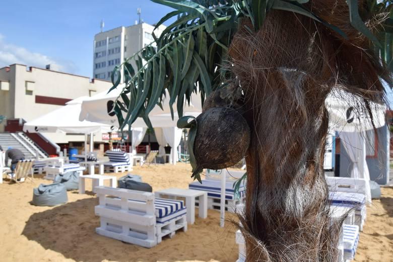 Plaża i palmy w centrum miasta? Dla chcącego nic trudnego. W poniedziałek,18 maja, ruszyła strefa relaksu z prawdziwym nadmorskim klimatem. Zobacz, jak