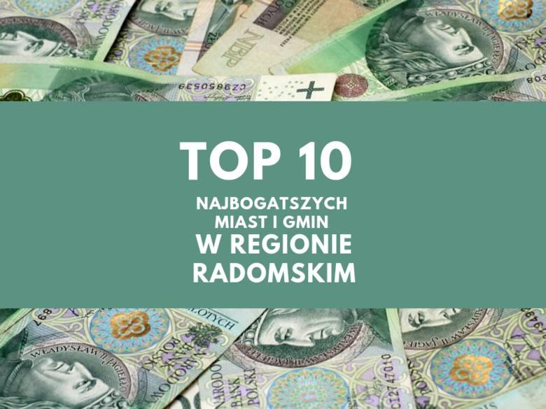 """W oparciu o zestawienie """"Najbogatsze samorządy"""" Pisma Samorządu Terytorialnego """"Wspólnota"""" stworzyliśmy listę 10"""