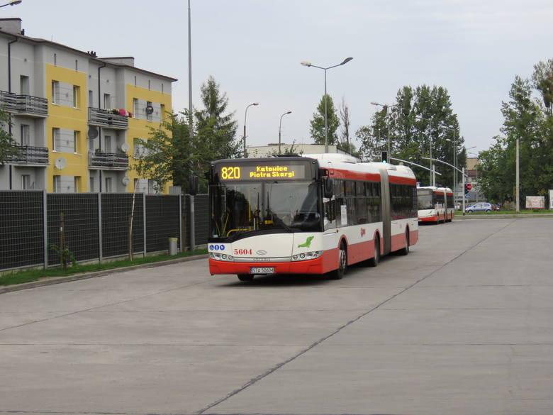 Dworzec autobusowy w Tarnowskich Górach