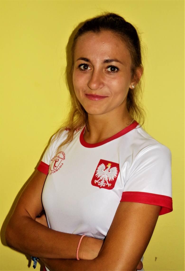 Wioleta Franczyk już niedługo zadebiutuje na mistrzostwach świata, podobnie jak cała reprezentacja Polski w fistballu