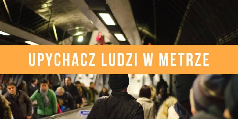 Praca marzeń. Zawód - upychacz ludzi w metrze
