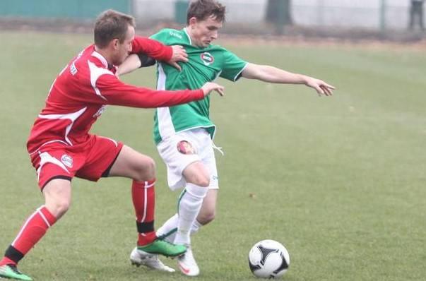 W Radomiaku Radom grało kilkuset piłkarzy (na zdjęciu Michał Domański. Grał w Radomiaku w sezonie 2011/2012 w trzeciej lidze. Wywalczył awans z zielonymi