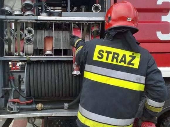 Pożar w Lęborku. Strażacy ewakuowali ponad 30 osób. Zdjęcie archiwalne.