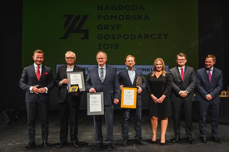 Gala Finałowa XX jubileuszowej edycji konkursu o Nagrodę Pomorską Gryf Gospodarczy 2019.