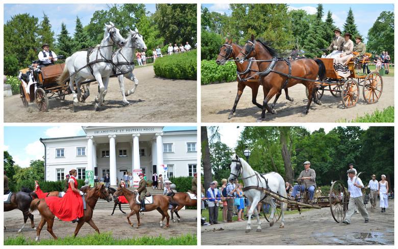 W Pałacu w Lubostroniu odbył się XXIV Konkurs Pojazdów Konnych.Uczestnicy zmierzyli się ze sobą w dwóch konkurencjach: pokaz i powożenie. Poloneza i