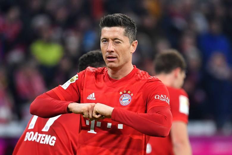 10. Robert Lewandowski (Bayern Monachium) - 1,6 mln euro miesięczne, 19,2 mln euro rocznie.