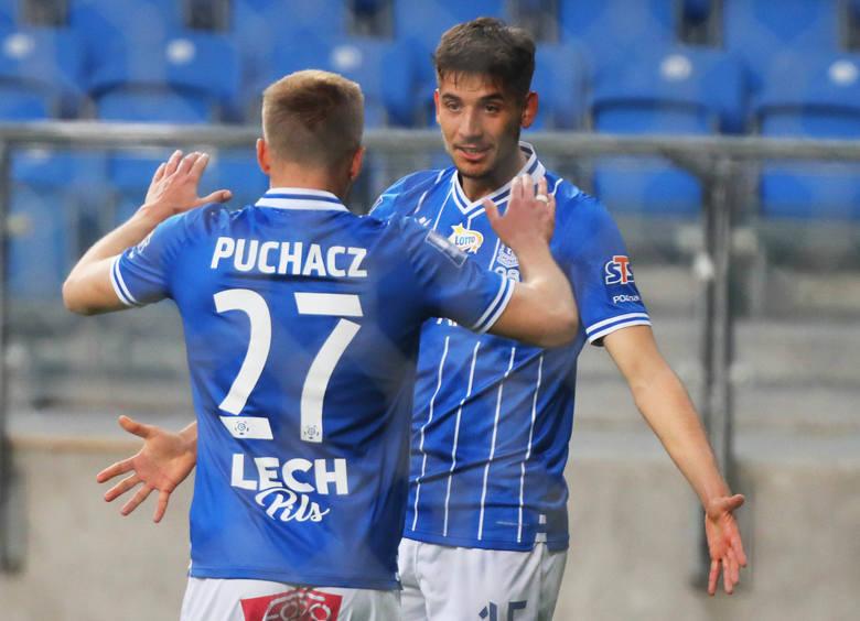 Lech Poznań zanotował pierwsze zwycięstwo po odwieszeniu rozgrywek, pokonując Pogoń Szczecin aż 4:0. Kilku lechitów we wtorkowy wieczór błysnęło przy