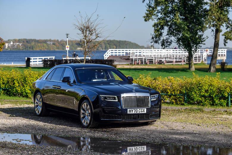 Rolls Royce Ghost II. Witamy w świecie luksusu! Pierwsze jazdy testowe nowym modelem