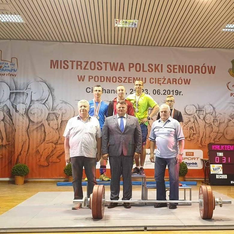 Historyczne medale mistrzostw Polski dla Klimatu Łapy