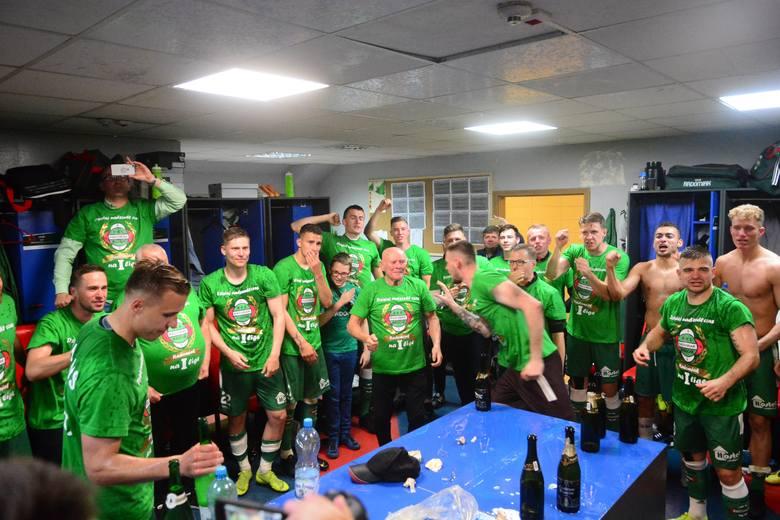Radomiak Radom wywalczył w sobotę upragniony awans do pierwszej ligi.
