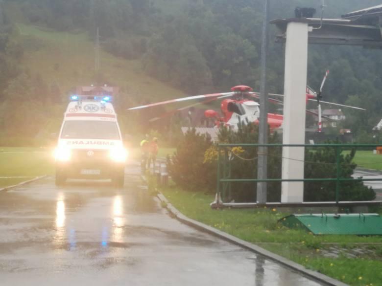 Burza w Tatrach. Pogoda nad górami zmieniła się błyskawicznie