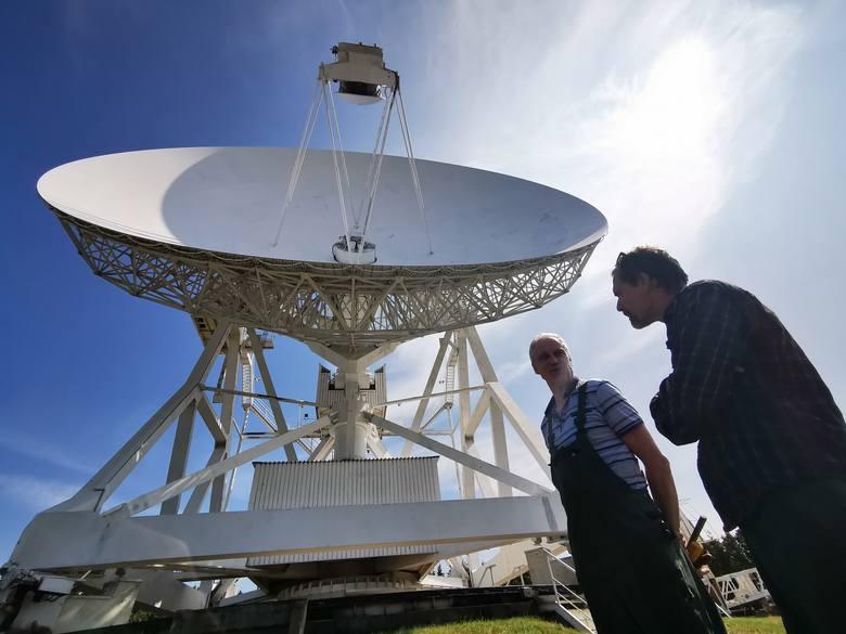 Radiotelskop z Centrum Astronomii UMK przejdzie remont