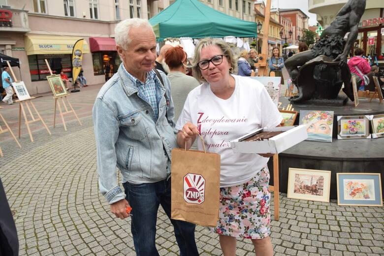 Wystawa prac pokonkursowych (Natura moich okolic) oraz grupy Babie Lato - Zielona Góra - 7 lipca 2021