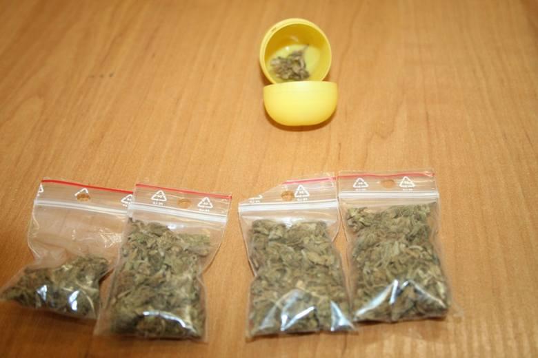 Patryk K. miał narkotyki w mieszkaniu.