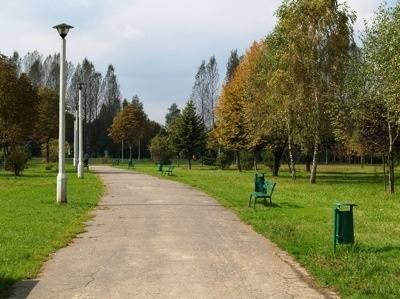 Park im. Maćka i Doroty położony jest na terenie Dzielnicy X Swoszowice na osiedlu domków jednorodzinnych - Kliny Borkowskie, przy ulicach Zawiszy, Narvik,