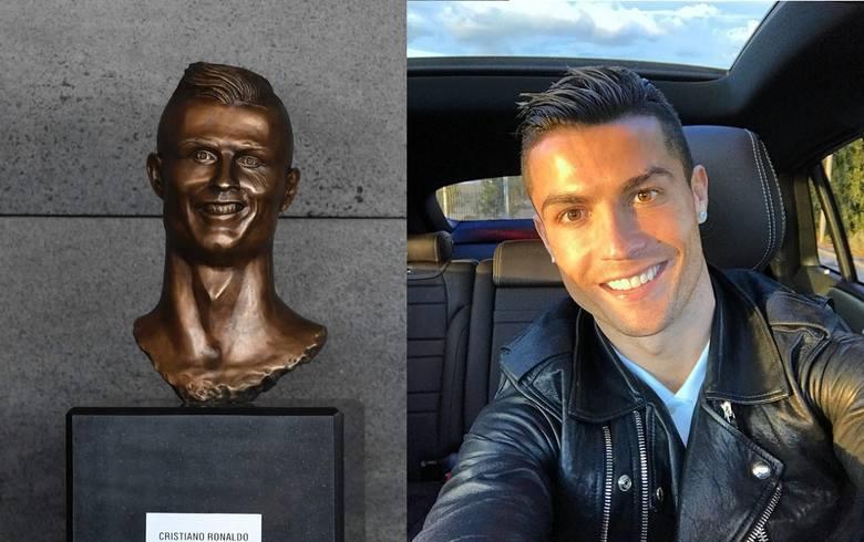 Sobowtóry, pomniki i figury znanych piłkarzy. Dostrzegasz podobieństwo? [GALERIA]