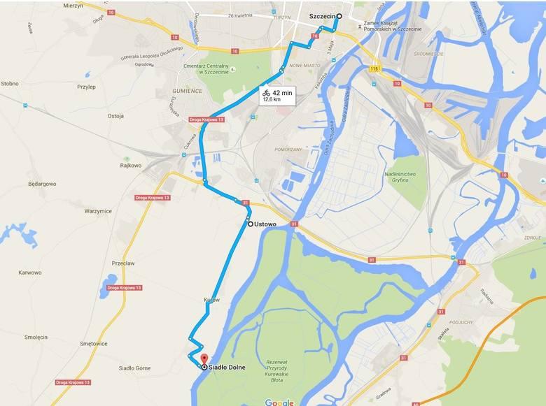 Trasy rowerowe w Szczecinie i regionie