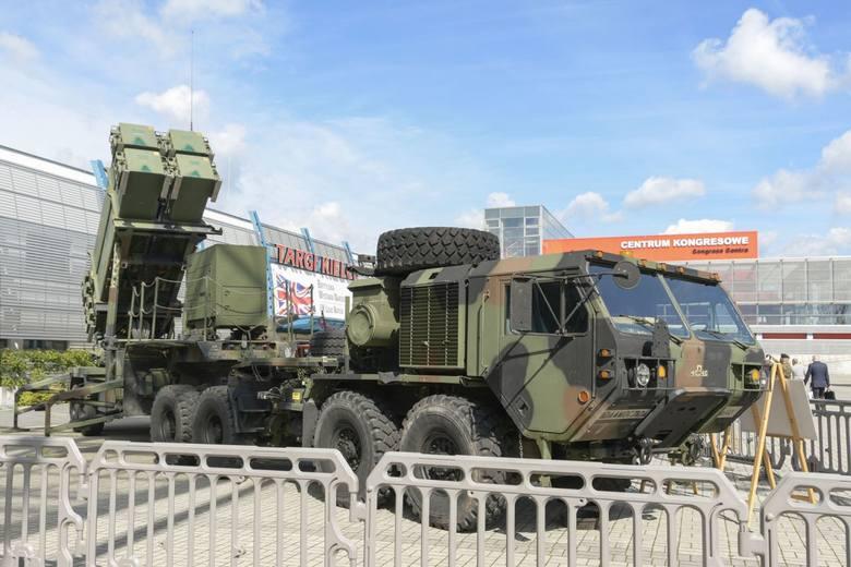 Na Salonie Obronnym prezentowany jest kompletny system Patriot. Choć firma Raytheon prezentowała już w Kielcach w poprzednich latach jego poszczególne