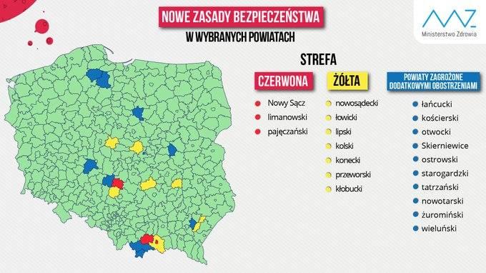 Koronawirus w Krakowie. Stolica Małopolski nie będzie już w żółtej strefie