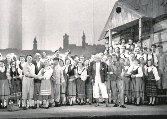 """Balet """"Wesele krakowskie w Ojcowie"""" Karola Kurpińskiego znalazł się na afiszu inauguracyjnego przedstawienia z 1956 r."""