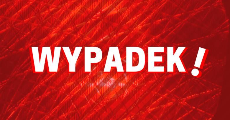 Potrącono pieszą w Bydgoszczy. Kobieta została przewieziona do szpitala
