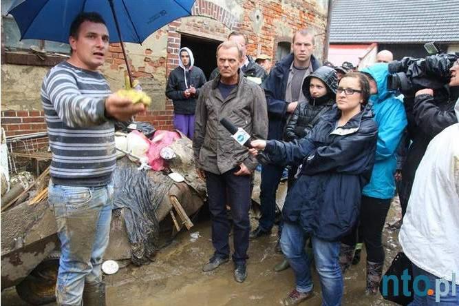 Głuchołazy pod wodą. Powódź