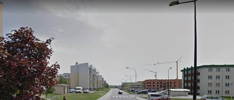 Budowa chodnika od ul. Zygmunta Augusta do ul. Józefa Franczaka