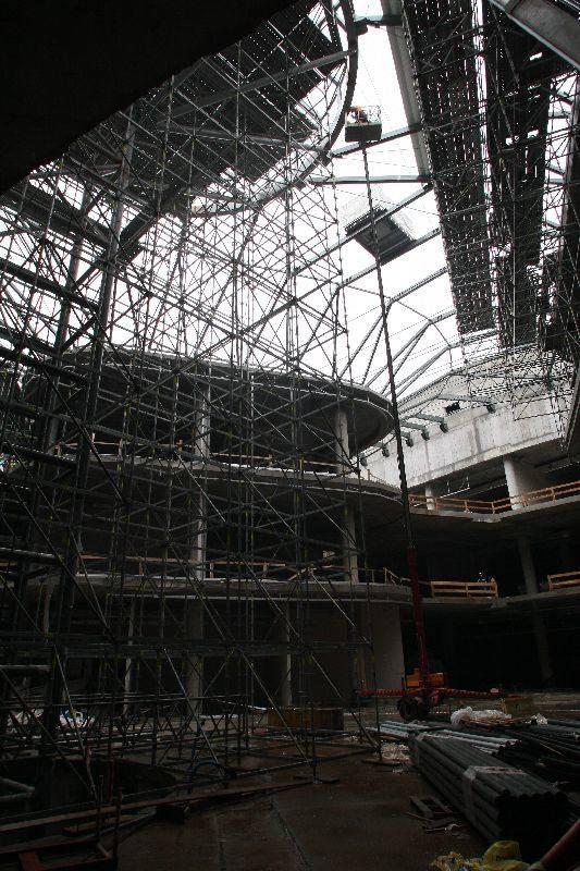 Niesamowite tempo prac na budowie Galerii Korona Kielce