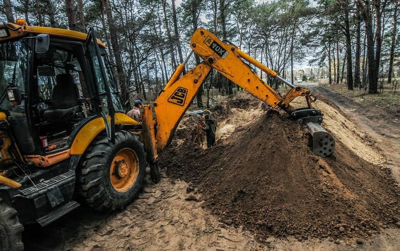 W lesie znaleziono szczątki 300 osób. Bez głów
