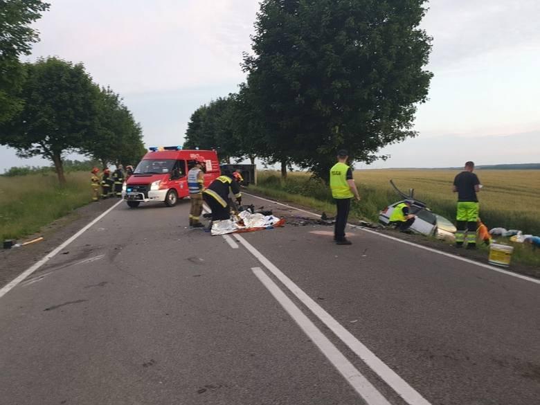 Śmiertelny wypadek w Borczu, 21.06.2020